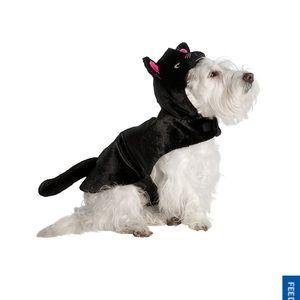 Thrills & Chills l Black Cat Dog Dress Up Costume